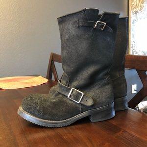 "Shoes - Tom Houston ""mechanic"" boots size 9.5 W (7.5 mens)"